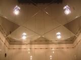 Зеркальный потолок Серебро, Бронза, Графит (595х595 мм)
