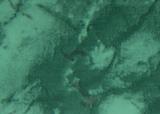 "Плинтус для столешницы ""Thermoplast"" AP 120 Зеленый мрамор 145"