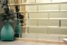 Зеркальная плитка 480*120 мм с фацетом 10 мм (под кирпич)