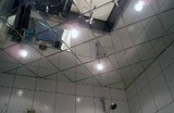 Зеркальный потолок Серебро, Бронза, Графит (295х295 мм)