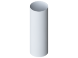 Труба водосточная ПВХ 3 м  Альта-Профиль