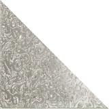 """Зеркальная плитка треугольная с фацетом 10 мм """"Алладин"""" (серебро)"""