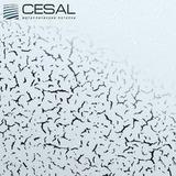Потолочная кассета Cesal В35 Иней голубой (300х300 мм)