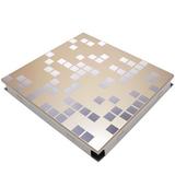 Потолочная кассета Cesal В38 Мозаика золотая (300х300 мм)