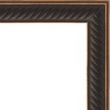 """Зеркало в багетной раме """"Витой махагон"""""""