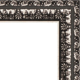 """Зеркало в багетной раме """"Черненое серебро"""""""