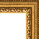 """Зеркало в багетной раме """"Бусы золотые"""""""