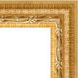 """Зеркало в багетной раме """"Сусальное золото"""""""