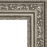 """Зеркало в багетной раме """"Виньетка состаренное серебро"""""""