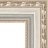 """Зеркало в багетной раме """"Версаль серебро"""""""