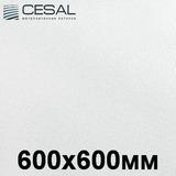 Потолочная кассета Cesal С01 Жемчужно-белый (600х600 мм)