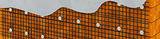 """Базальтовая сетка """"Гридекс"""" штукатурная 1х50 м (ячейка 50х50 мм)"""