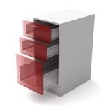 Корпус напольный с 3мя ящиками 60 см